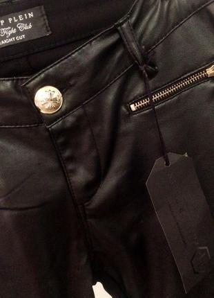 Шкіряні штани philipp plein