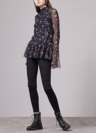 Модная шифоновая блуза размер с stradivarius