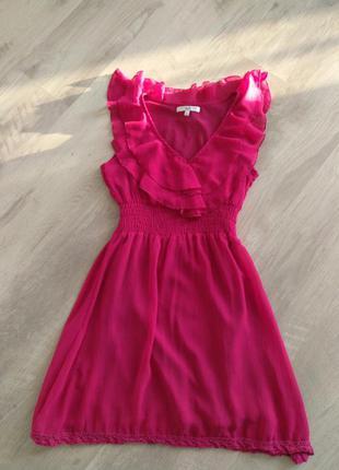 Летнее платье сарафан new look xs 6 размер