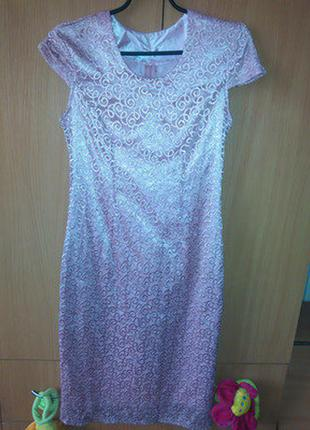 Гипюровое платье 46-48р
