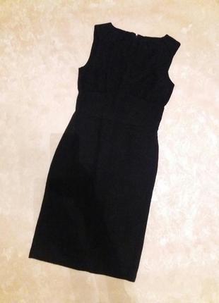 Платье женское 57% шерсть, длина миди 100 см, р. s, zara