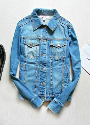 Джинсовая куртка mango m-l