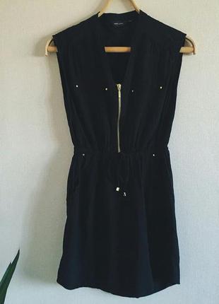 Стильное черное платье от new look