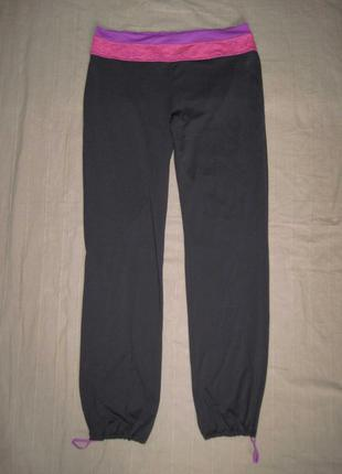 H&m sport (l) спортивные эластичные штаны женские