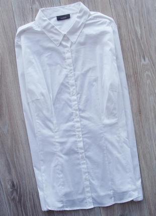 Белая базовая рубашка yassica c&a