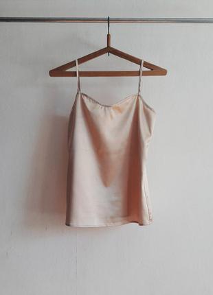 Майка блуза ночнушка пеньюар ночное белье для сна на бретелях suite blanco
