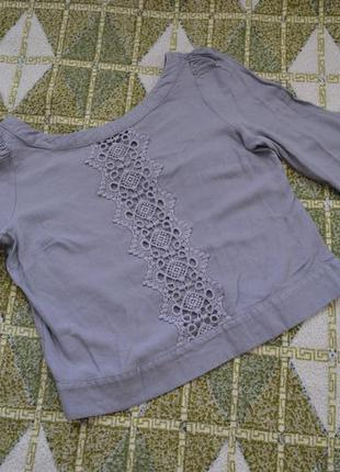 Короткий топ-блузка kookai