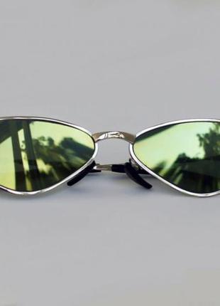 Крутые треугольные ретро очки как у даши ши