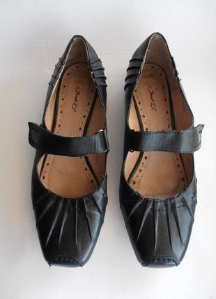 Кожаные туфли janet d. германия