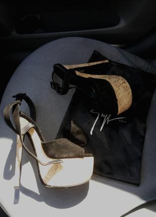 Giuseppezanotti босоножки на высоком каблуке