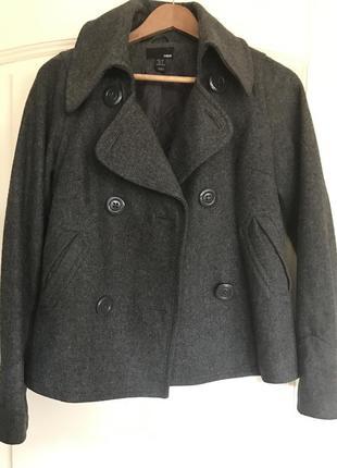 Очень стильное пальто полупальто
