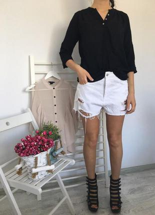 Чёрная блуза (бесплатная доставка)