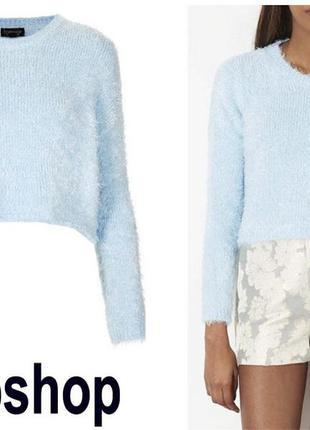 Укороченный свитер, кроп топ, crop top