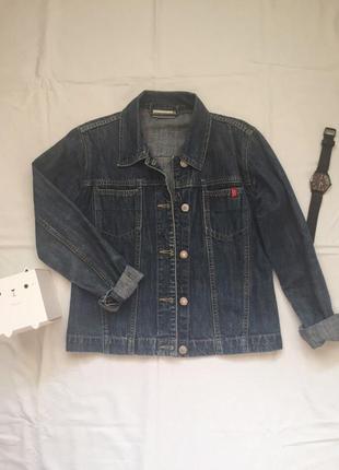 Джинсовая курточка tom tailor