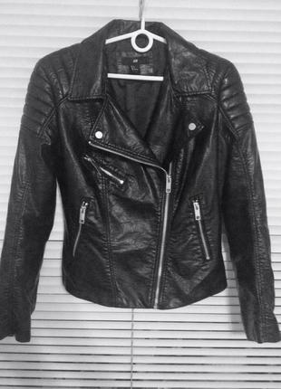 Куртка-косуха h&m из новой коллекции