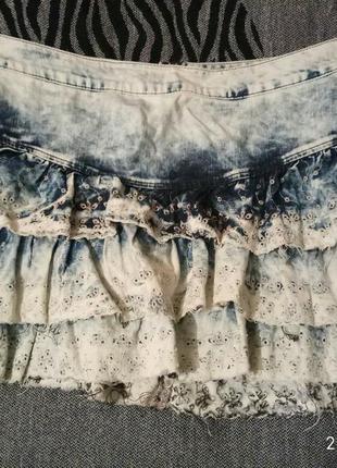 Джинсовая юбка next
