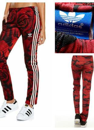 Фирменные спортивные штаны adidas, размер 10/38
