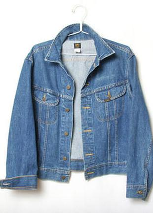 Новая куртка lee джинсовая оригинал из америки размеры s, m