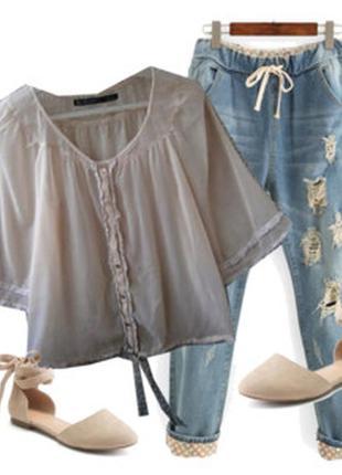 Нежная блуза размер 44-46