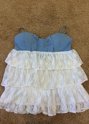 Блуза, кружевная блузка