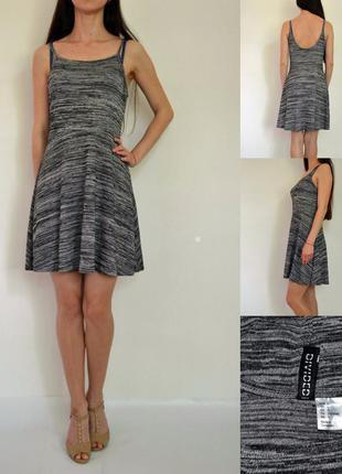 Весеннее платье с открытой спиной