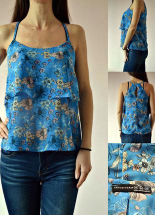 Блуза с эффектом двойной