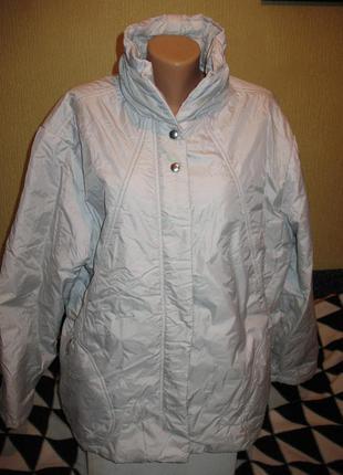 Красивая утепленная деми куртка ovs большого размера