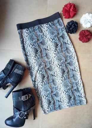 Шикарная эффектная юбка