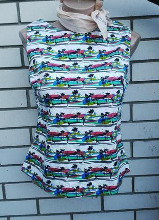 Блузка с застежкой по спине marks & spencer