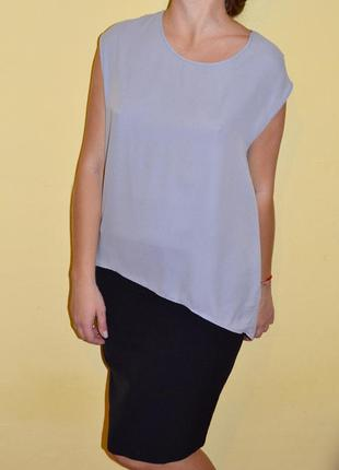 Шикарная новая блуза divided h&m размер s майка