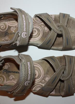 Босоножки, сандали на липучках спортивные outventure