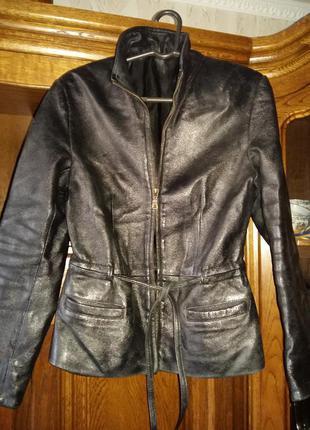 Кожаная куртка натуральная