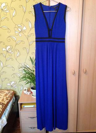 Платье в пол bcbgmaxazria  вечернее выпускное для фотосесий размер м новое