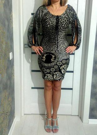 Шикарное  платье, италия