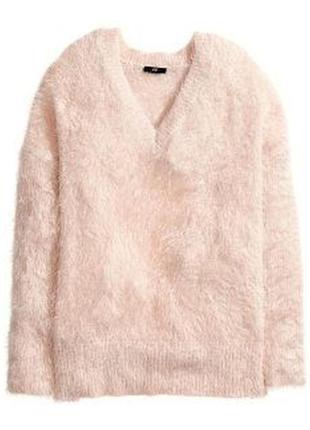 Оверсайз свитер травка, цвет тауп