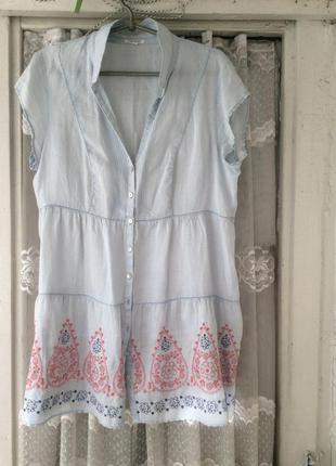 Туника-платье 16 размер