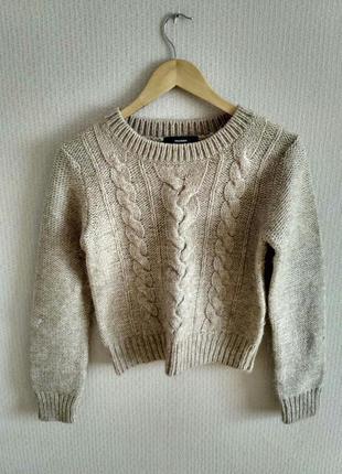 Кроп свитер hallhuber