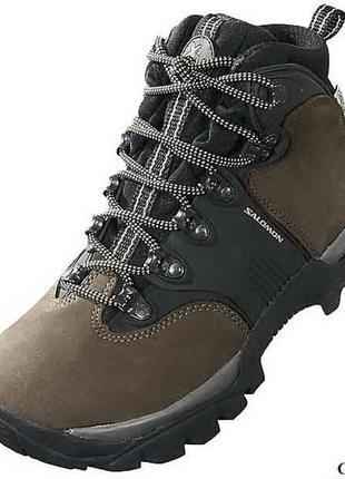 Salomon x-mountain® ботинки для горного трекинга. размер 39-40