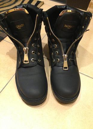 Ботинки balmain 38 размер