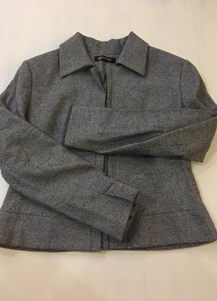 Пиджак жакет monton размер u.k. 14 шерсть