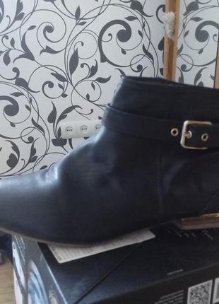 Стильные ботинки на низком ходц