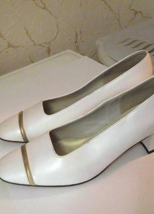 Распродажа! элегантные туфли carmelita, свадебные, р.38-39