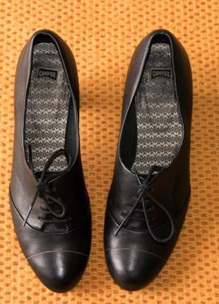 Туфли броги camper ,р. 39. кожа
