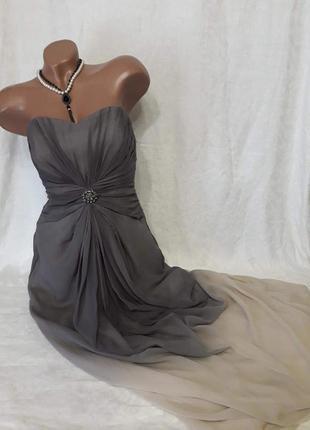 Вечернее  платье с переливом
