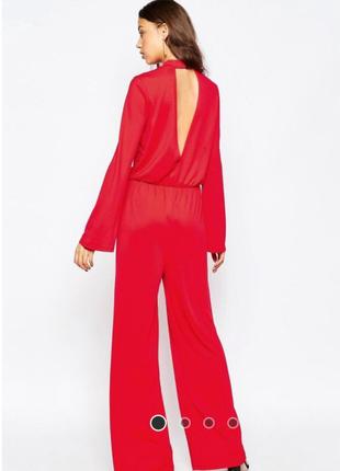 Новый красный комбинезон vero moda