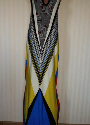 Шикарное длинное платье сарафан