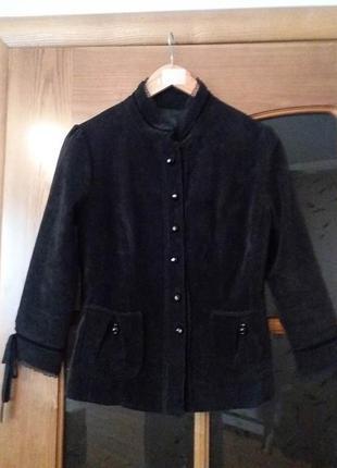 Вельветовый пиджак monton