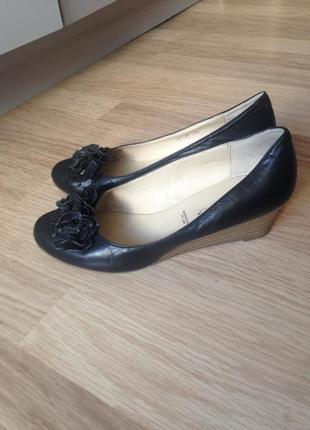 Туфли кожаные janet d 36 размер