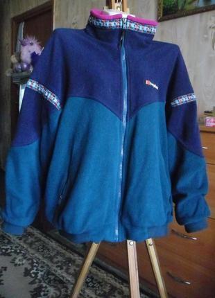 Винтажная куртка знаменитого бренда berghaus под 90-е