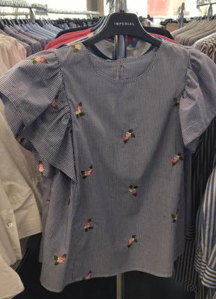 Блузка з рюшами
